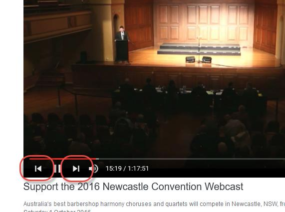 Newcastle Videos now available for viewing