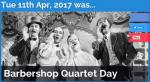 Barbershop Quartet Day 2017
