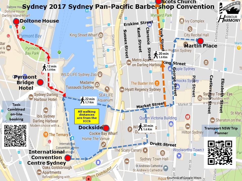 Where Is Sydney Australia On A Map.Barbershop Harmony Australia 2017 09 20 News Getting Around